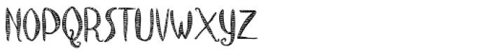 Caterpillar Font UPPERCASE