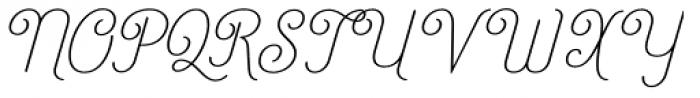 Catfish Light Font UPPERCASE