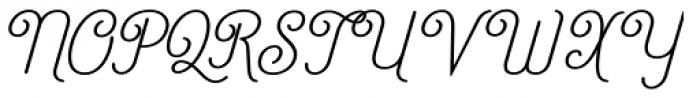 Catfish Font UPPERCASE