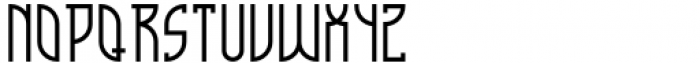 Cathedral Display Regular Font LOWERCASE