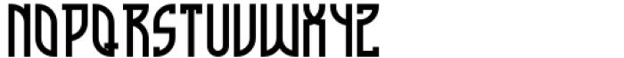 Cathedral Display Semi Bold Font UPPERCASE
