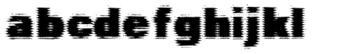 Cathode Font LOWERCASE