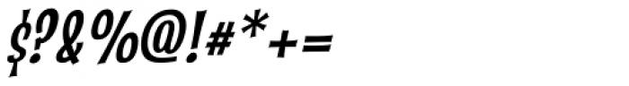Catseye Cyrillic Narrow Italic Font OTHER CHARS