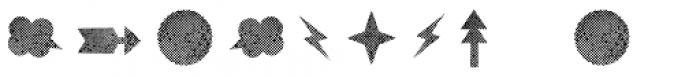 Catshape Rough Font OTHER CHARS