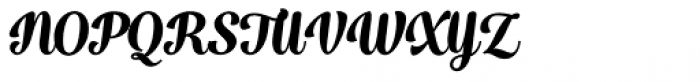 Catsy Black Font UPPERCASE