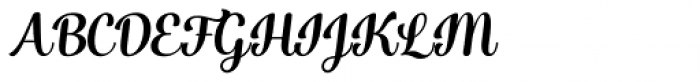 Catsy Bold Font UPPERCASE