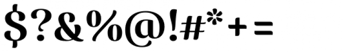 Caturrita Display Medium Font OTHER CHARS