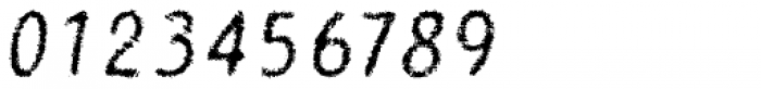 Catwing Fuzz Font OTHER CHARS