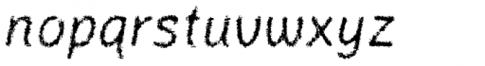 Catwing Fuzz Font LOWERCASE