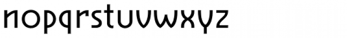 Cavalier Book Font LOWERCASE