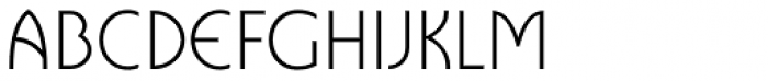 Cavalier Light Font UPPERCASE