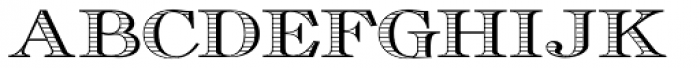 Cavaliere Grey Font LOWERCASE