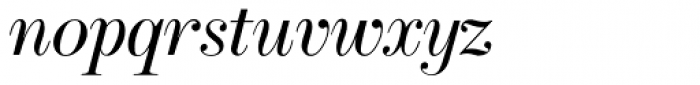 Cavetto Italic JF Font LOWERCASE