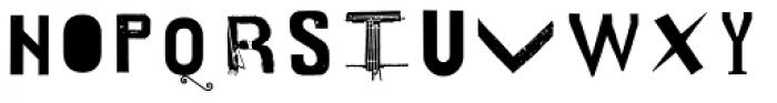 Cavillus Bold Font UPPERCASE
