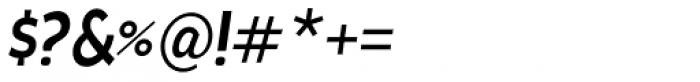 Cavita Demi Bold Italic Font OTHER CHARS