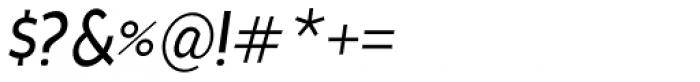 Cavita Italic Font OTHER CHARS