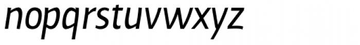 Cavita Italic Font LOWERCASE