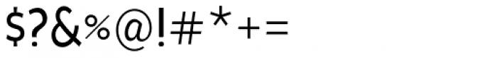 Cavita Regular Font OTHER CHARS