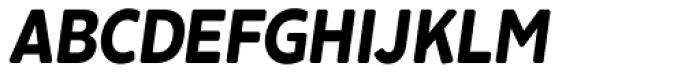 Cavita Rounded Bold Italic Font UPPERCASE