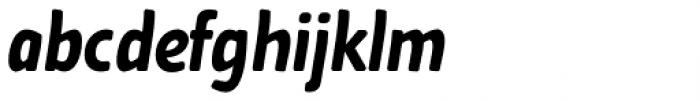 Cavita Rounded Bold Italic Font LOWERCASE