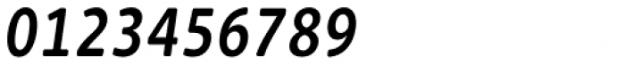 Cavita Rounded Demibold Italic Font OTHER CHARS