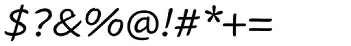 Cavolini Italic Font OTHER CHARS