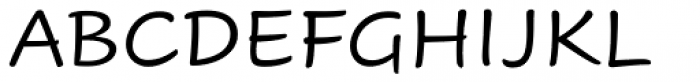 Cavolini Regular Font UPPERCASE