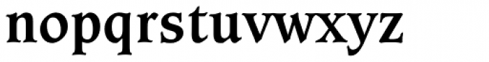 Caxton Bold Font LOWERCASE