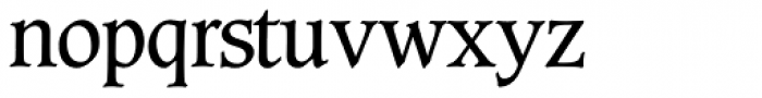 Caxton SH Book Font LOWERCASE