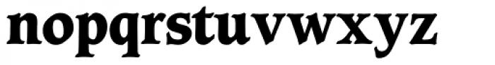 Caxton SH ExtraBold Font LOWERCASE