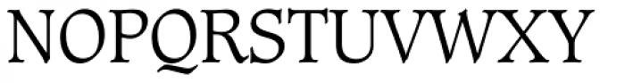 Caxton Std Light Font UPPERCASE