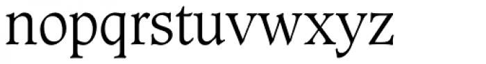 Caxton Std Light Font LOWERCASE