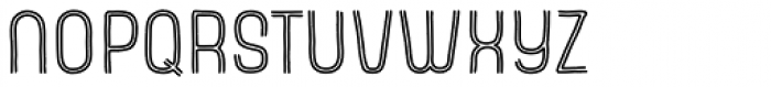 Cayenne Inline Font LOWERCASE