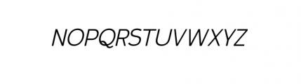 Calvin Book Italic Font UPPERCASE
