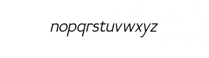 Calvin Book Italic Font LOWERCASE