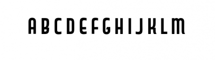 Capitol Complete Bold Font LOWERCASE