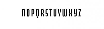 Capitol Complete Demi Bold Font LOWERCASE