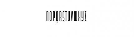 Capitol Complete Light Font LOWERCASE