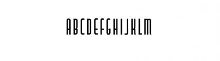 Capitol Complete Medium Font LOWERCASE