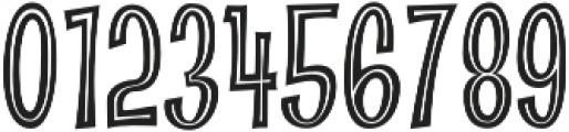 CCAbsolutelyFabulousInside otf (400) Font OTHER CHARS