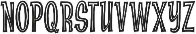 CCAbsolutelyFabulousInside otf (400) Font UPPERCASE
