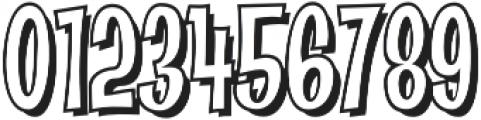 CCAbsolutelyFabulousOutside otf (400) Font OTHER CHARS