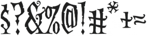 CCAltogetherOokyCapitals Regular otf (400) Font OTHER CHARS