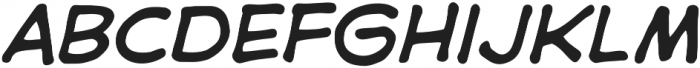 CCAstroCity otf (400) Font LOWERCASE