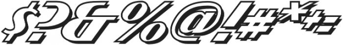 CCAtomicWedgieOutline Regular otf (400) Font OTHER CHARS