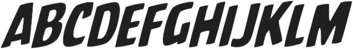 CCBattleCry otf (400) Font LOWERCASE
