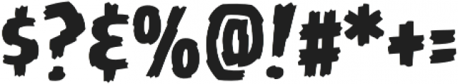 CCBattleDamaged Regular otf (400) Font OTHER CHARS