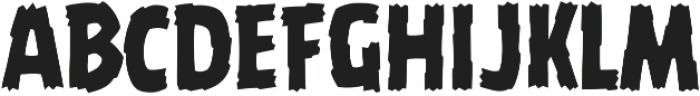 CCBattleDamaged Regular otf (400) Font UPPERCASE