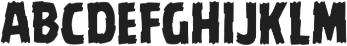 CCBattleDamaged Regular otf (400) Font LOWERCASE