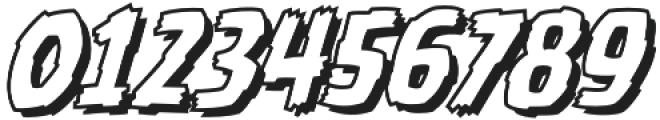 CCBattleDamagedOpen Italic otf (400) Font OTHER CHARS